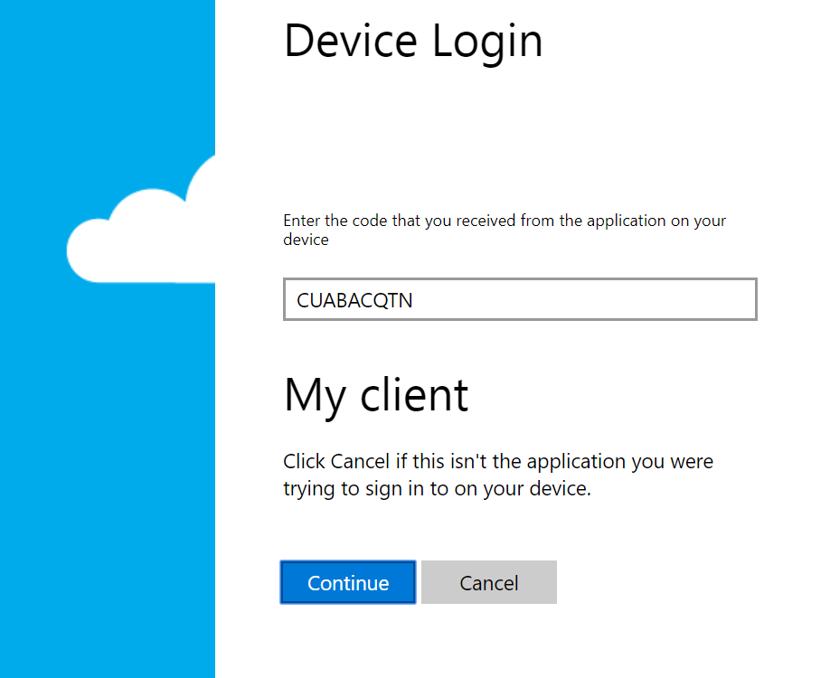 Setting up Azure AD Application for authentication